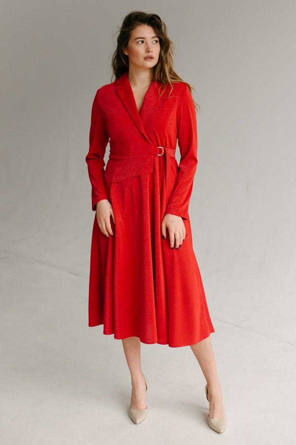 Красива сукня 171/1-04 червона