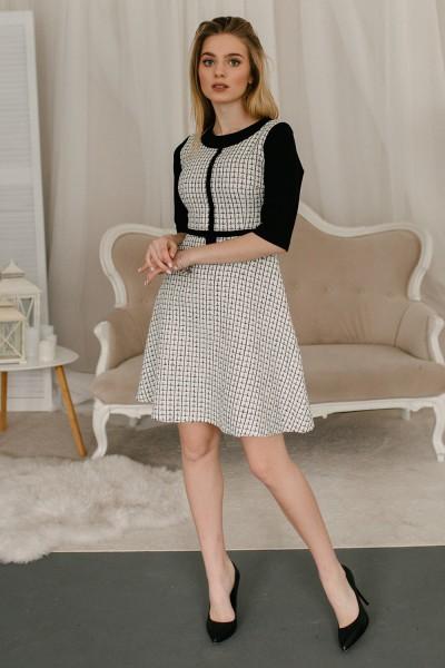 Платье 620/1-01 белое