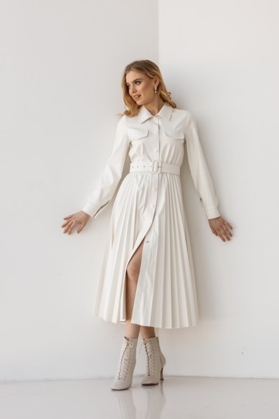 Платье 172-04 белое