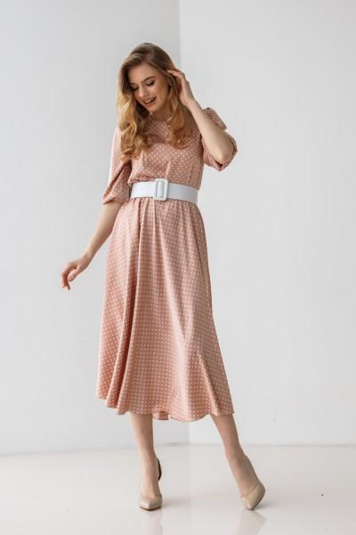 Платье 212-02 пудра