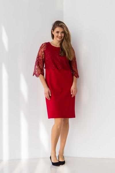 Плаття 606-01 червоне
