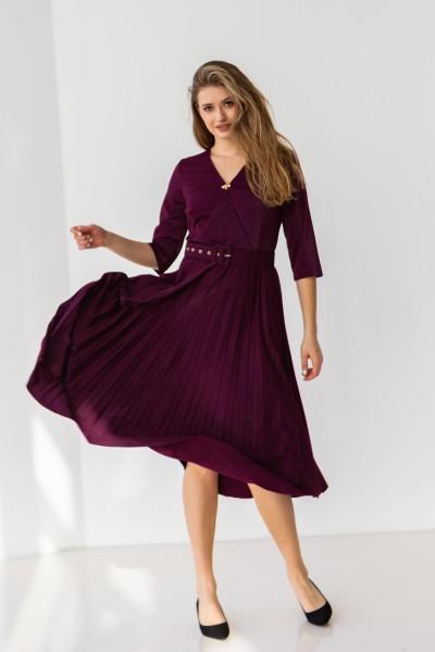 Платье 667-04 марсал