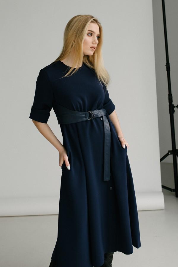 Красива сукня 165-03 синя