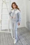 Детский костюм двойка 111-01 серый