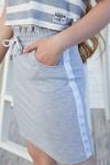 Дитяча спідниця 113-01 сіра