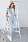 Дитячі штани 114-01 сірі