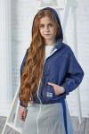 Куртка 118-01 джинс