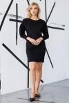 Красивое платье 158-01 черное