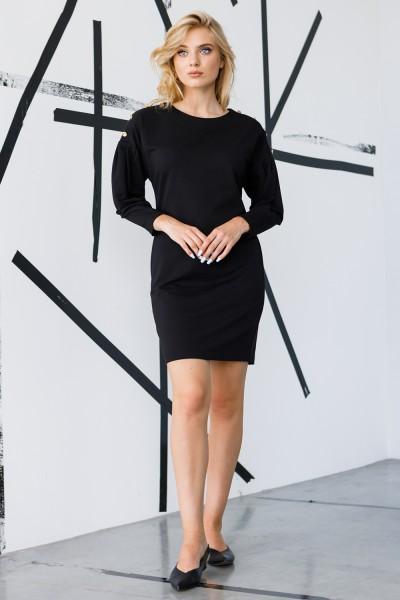 Красива сукня 158-01 чорна