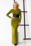 Платье 334-01 салатовое