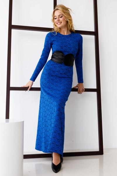 Сукня 334-02 синя