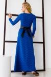 Платье 334-02 синее