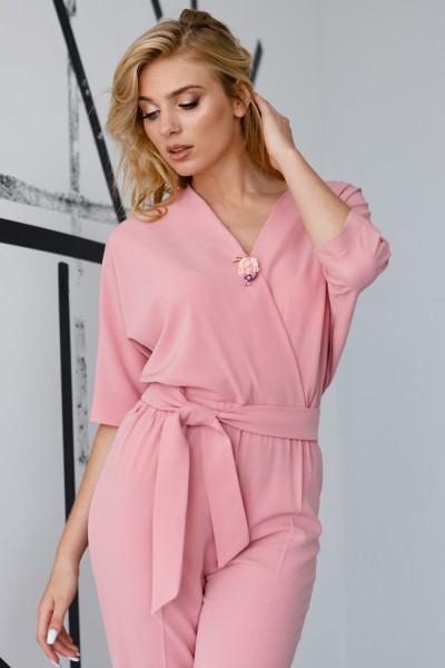 Комбінезон 582-04 рожевий