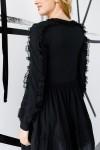 Платье 640-03 черное