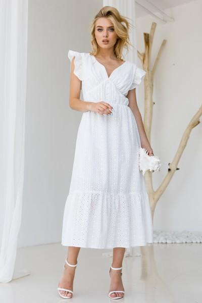 Сукня 811-01 біла