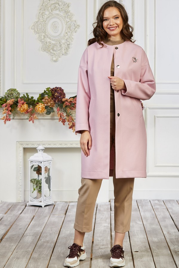 Кардиган 40-03 цвет розовый