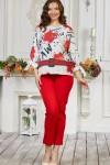 Костюм женский 656-03 красный
