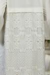 Кардиган 672-04 з білим кольором