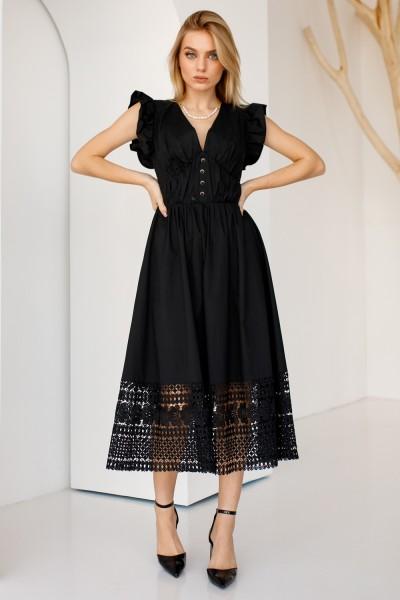 Сукня 809-02 чорна