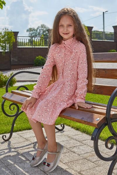 Платье 13-01 розовое