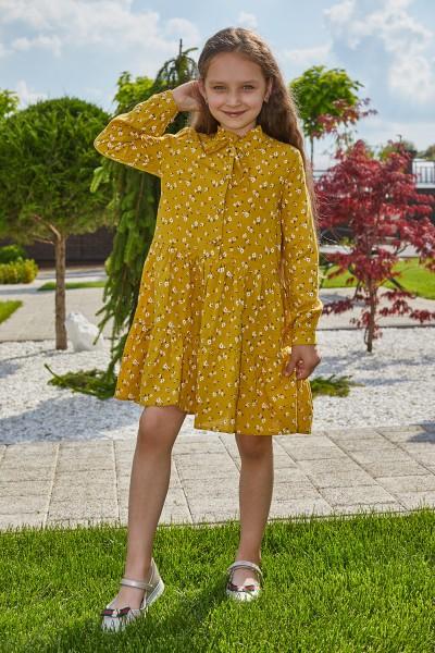 Платье 13-02 желтое
