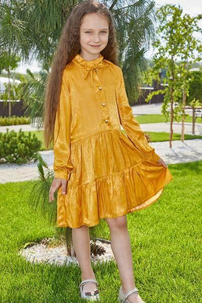 Платье 13/1-01 желтое