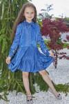 Платье 13/1-02 синее
