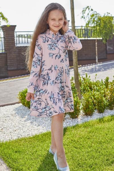 Платье 14-01 пудра