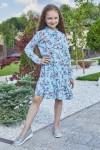 Платье 14-02 голубое