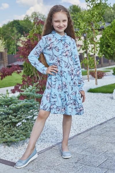 Сукня 14-02 блакитна