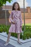 Платье 15-01 розовое