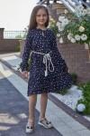Платье 15-02 темно синее