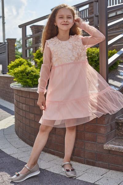 Платье 9/0-01 пудра