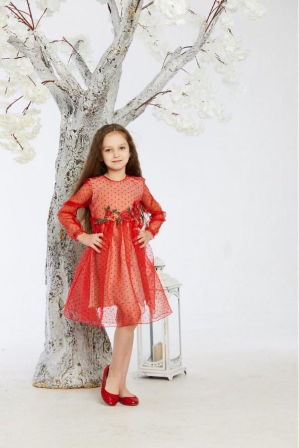 Платье 3/1 красное