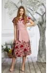 Платье 599/1-01 цвет фрез