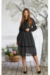 Платье 639/1-03 черное