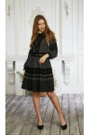 Платье 645-02 черное