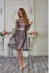 Плаття 559-02 колір фрезовий