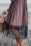 Плаття 585-01 рожеве з синім