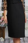 Платье 606-02 черное