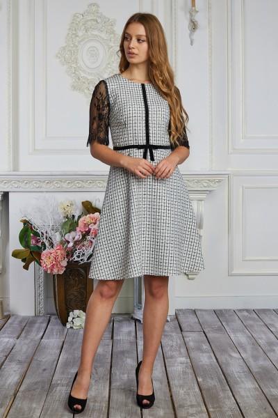 Плаття 620-02 сіре