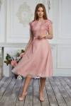 Платье 622-01 розовое