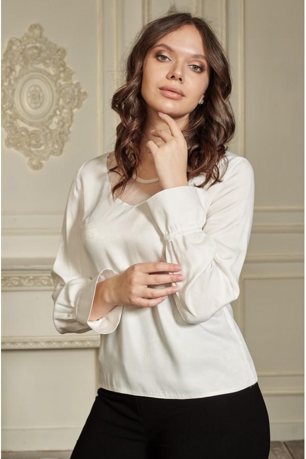 Блуза 658-01 біла
