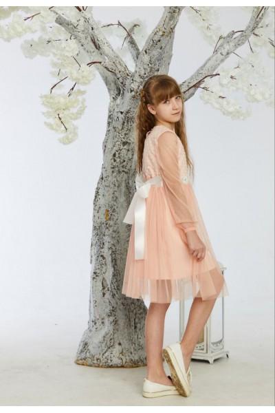 Платье 3-01 пудра