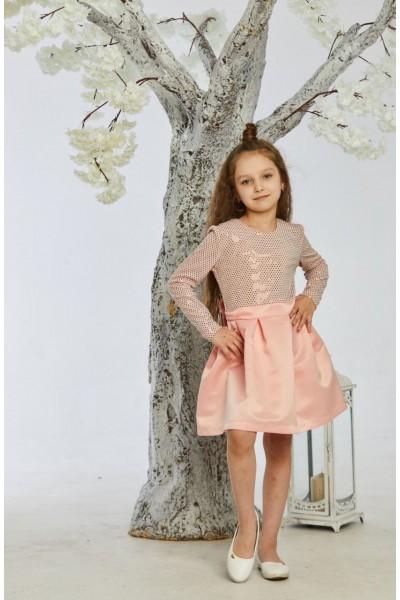 Платье 8-01 пудра