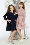Детское платье 11-02 розовое