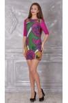 Платье 321-01 фуксия