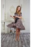 Платье 556-02 тигровое