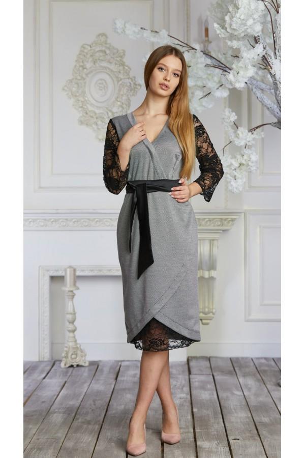 Платье 624-01 белое