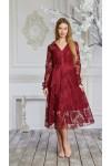 Платье 625-02 марсал